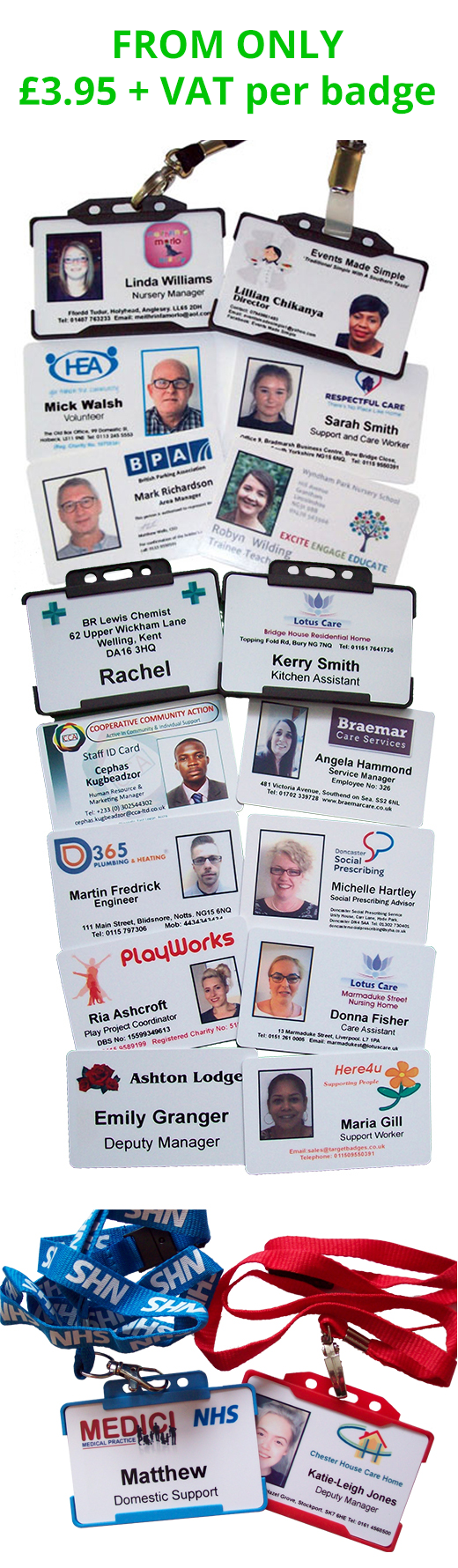 Photo ID Cards & ID Badges